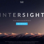 Cisco support for intersight